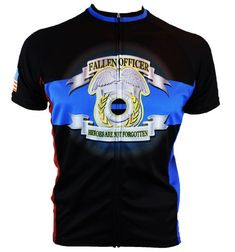 Fallen Police Officer Cycling Jersey Medium -- To view further for this item, visit the image link.(It is Amazon affiliate link) #instago