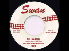 Billy Ford and The Thunderbirds - The Monster - Late 50's Novelty Record
