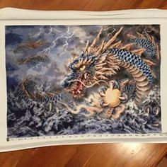 Blue Dragon by Heaven and Earth Designs.  Finished 2014