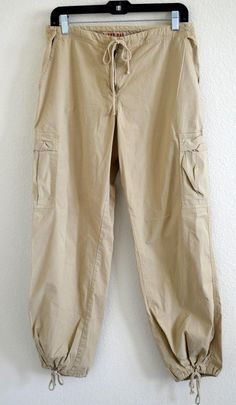 Johnny Was Blend Drawstring Cargo Pants. Free shipping and guaranteed authenticity on Johnny Was Blend Drawstring Cargo Pants at Tradesy.