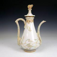 Manufacture Nationale de Sèvres - Marco Lagerweij - 20th century decorative arts Vase, Mistletoe, Art Decor, Art Nouveau, Tea Pots, Porcelain, Tableware, Porcelain Ceramics