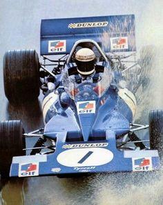 #1 Jackie Stewart...Tyrrell Racing Organisation...Tyrrell 001...Motor Ford Cosworth DFV V8 3.0...GP Estados Unidos 1970