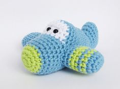 Crochet patterns amigurumi vehicles car airplane and by ByMarika