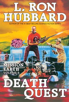 Death Quest by L. Ron Hubbard  Kinky killers.