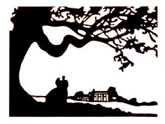gone with the wind silhouettes | Totally Made That Tuesday -- New Shop Announcement!