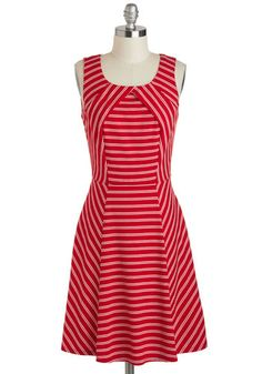 Summer of Dresses cannot come soon enough. Ray of Lighthouse Dress, #ModCloth