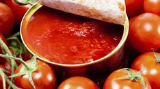 Use canned tomatoes in your healthy cooking with these recipes from Food Network. Tomato Sauce Recipe, Sauce Recipes, Healthy Cooking, Healthy Eating, Healthy Recipes, Dinner Healthy, Healthy Foods, Cancer Causing Foods, Spaghetti Dinner