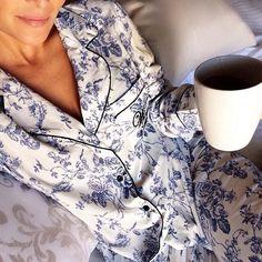 Pajamas past noon.