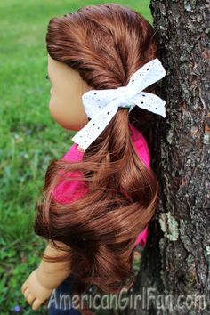 Doll Hairstyles Fair Braided Doll Hairstyle For Easter Click Through For Tutorial