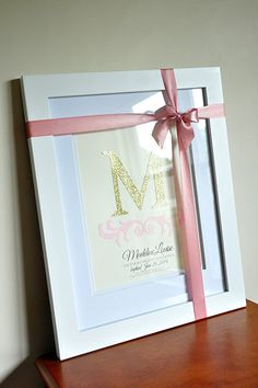 """What a gorgeous gift for a baby girl or little girl on her Baptism! Only $24.99 for the Personalized 8x10"""" Christening Wall Art and $99.99 for the Art and Optional Custom Framing and FREE SHIPPING! #baptismgift #christeninggift #godparents"""