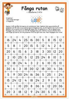 Ett multiplikationsspel i två upplagor, tabell 1-6 och 1-10. Words, Horse