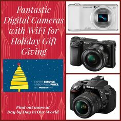 Fantastic Digital Cameras with WiFi for Holiday Gift Giving @BestBuy #CamerasatBestBuy #HintingSeason #sponsored  There's truly something for everyone!