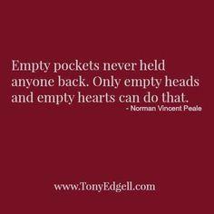 Never empty