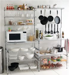 Free Standing Kitchen Round Up Shelving Idetorage Ideaswire Shelvingikea