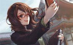 Resultado de imagen para anime chicas con lentes