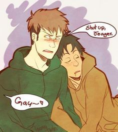 YOU HAVE NO ROOM TO TALK JEAGER HAVE YOU SEEN WHAT YOU HAVE DONE WITH LEVI...