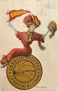 1837 -- Oberlin College becomes the first college to regularly admit women