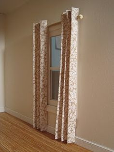 Dollhouse Curtains ~ Hangin' Hem Free! | Nature's Soul Miniatures - Great step by step guide!