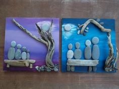 pebble and driftwood pictures