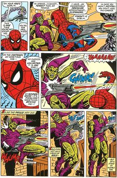 The death of the Green Goblin: Amazing Spider-Man 122