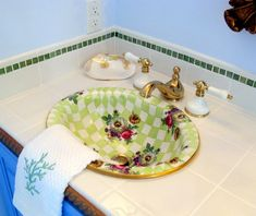 I really love decorative sinks
