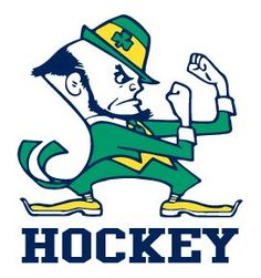 notre dame fighting irish hockey - Google Search