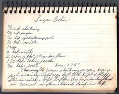 ART: Appalachian Granny's sugar cookie recipe