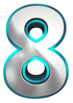 Metallic and Blue Number Eight PNG Clipart Image Cake Logo Design, Max Steel, Printable Numbers, How To Become Rich, Gate Design, Alphabet And Numbers, Eight, Clipart Images, Numerology