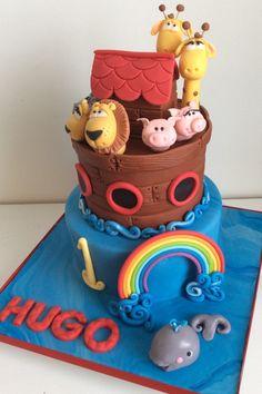 Noahs Ark Birthday Cake