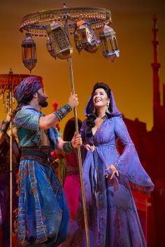 Courtney Reed as Jasmine | Things You Didn't Know About Aladdin, Jasmine, Genie, And Jafar