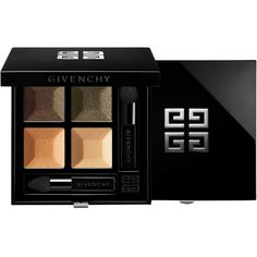 Givenchy Beauty Women's Le Prisme Quatuor Eyeshadow Quad (£46) ❤ liked on Polyvore featuring beauty products, makeup, eye makeup, eyeshadow, nude, givenchy eye shadow, givenchy eyeshadow, givenchy and creamy eyeshadow