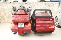 honda goldwing + sidecar