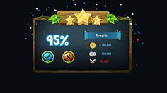Fantasy Game Gui Pack by yuq229 on @creativemarket