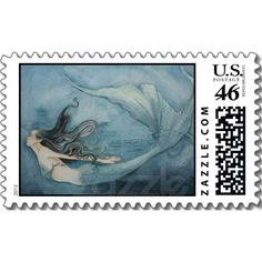 Mermaid Stamp
