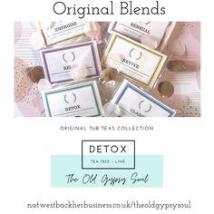 Detox bath blend of natural salts and essential oils