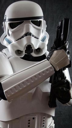 Star Wars: Stormtrooper - Star Wars Models - Ideas of Star Wars Models - Star Wars: Stormtrooper Vader Star Wars, Star Wars Clone Wars, Star Wars Art, Darth Vader, The Trooper, Clone Trooper, Storm Troopers, Stargate, Star Fi