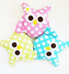 Owl Sewing Pattern  Mini Owls Party by GandGPatterns on Etsy, $6.00