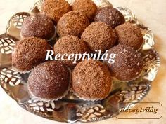 Mozartgolyó My Recipes, Sweet Recipes, Cookie Recipes, Marshmallow, Muffin, Gluten Free, Cookies, Breakfast, Dios