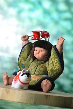 Japanese doll Warrior