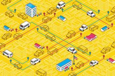 Welcome To Uber Ville. Uber wants to take over public transit, one small town at a time
