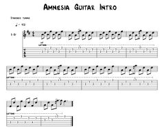 5 Seconds Of Summer - Amnesia Chords: D G Em Bm A