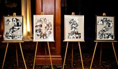 New Year wedding display idea