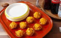 Buffalo Chicken TRISCUIT Cups