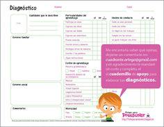 Fichas para preescolar: Fichas para sobrevivir a la semana de diagnóstco