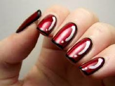 easy nail art step by step designs - Google Search