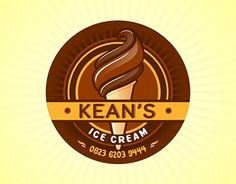 "Check out new work on my @Behance portfolio: ""Logo Ice Cream KEAN'S"" http://be.net/gallery/43712529/Logo-Ice-Cream-KEANS"