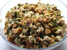 This year for a Thanksgiving treat I made my gluten free version of Stove Top Stuffing. This was very easy to make and really deliciou...
