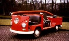 Small VW fire truck for small fires...