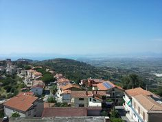 I took this in Ogliastro Cilento, Salerno, Italy.  It was such a clear day, I could see the ocean from the mountain.