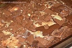 Toblerone Cheesecake Brownies